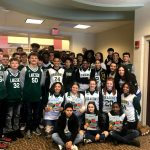 Basketball Teams Take Part in 2nd & 7 Reading Program