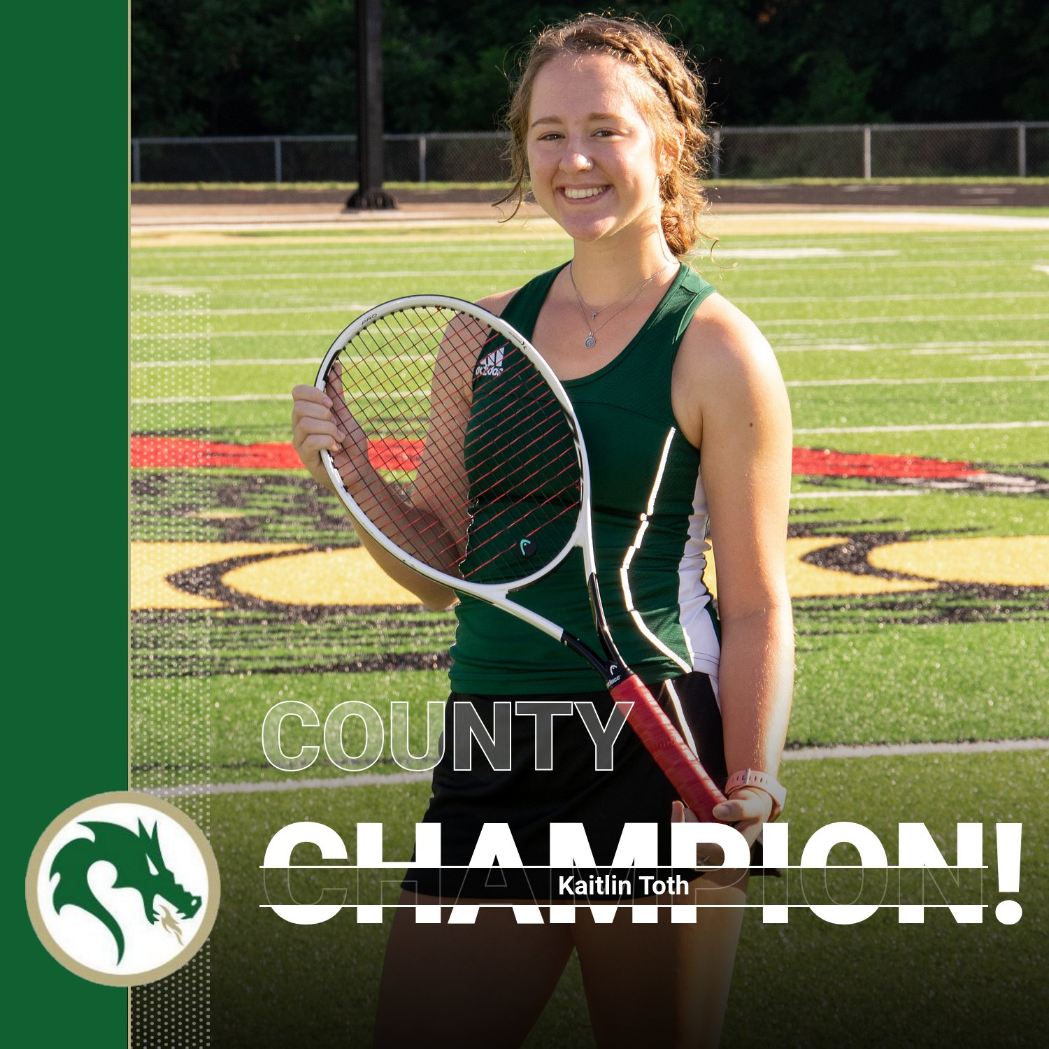 Girls Tennis: Toth County Champion, Team Finished Third