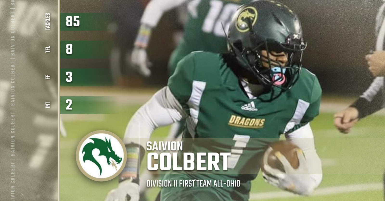 Colbert Named First-Ever First Team All-Ohio