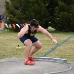 Lasure and Owens lead Vikings in 5-way track meet