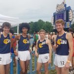 4×800 relay team sets school record, places 8th at State Championship