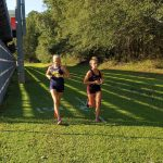 Girls Varsity Cross Country finishes 1st place at New Bern