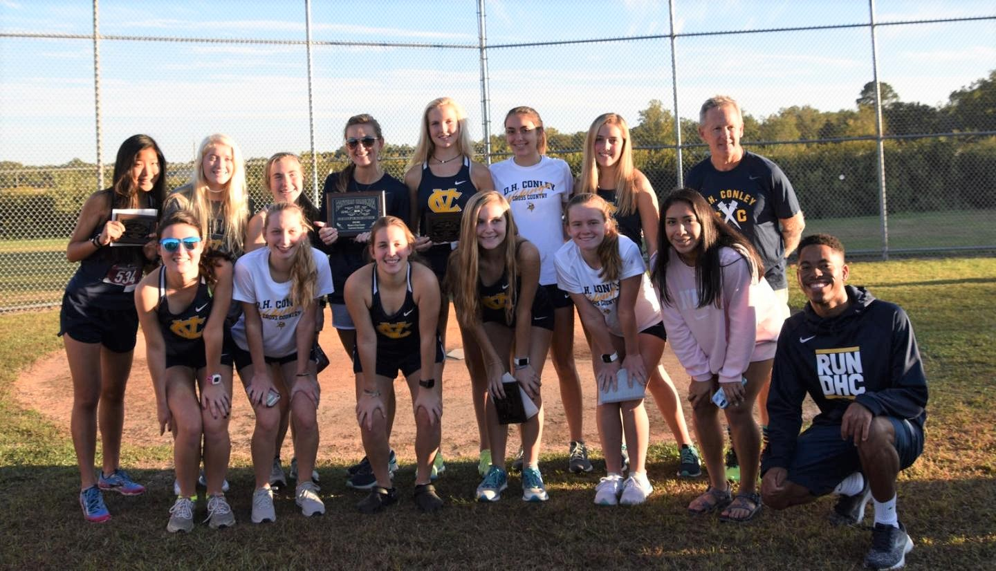 Conley Girls XC win third consecutive ECC conference championship