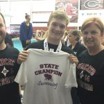 Bagwell wins Swim's First Ever State Championship