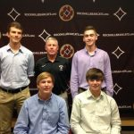 Four Rock Hill High Baseball Players Sign Letters of Intent