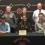 Three Bearcats Sign to Play College Ball