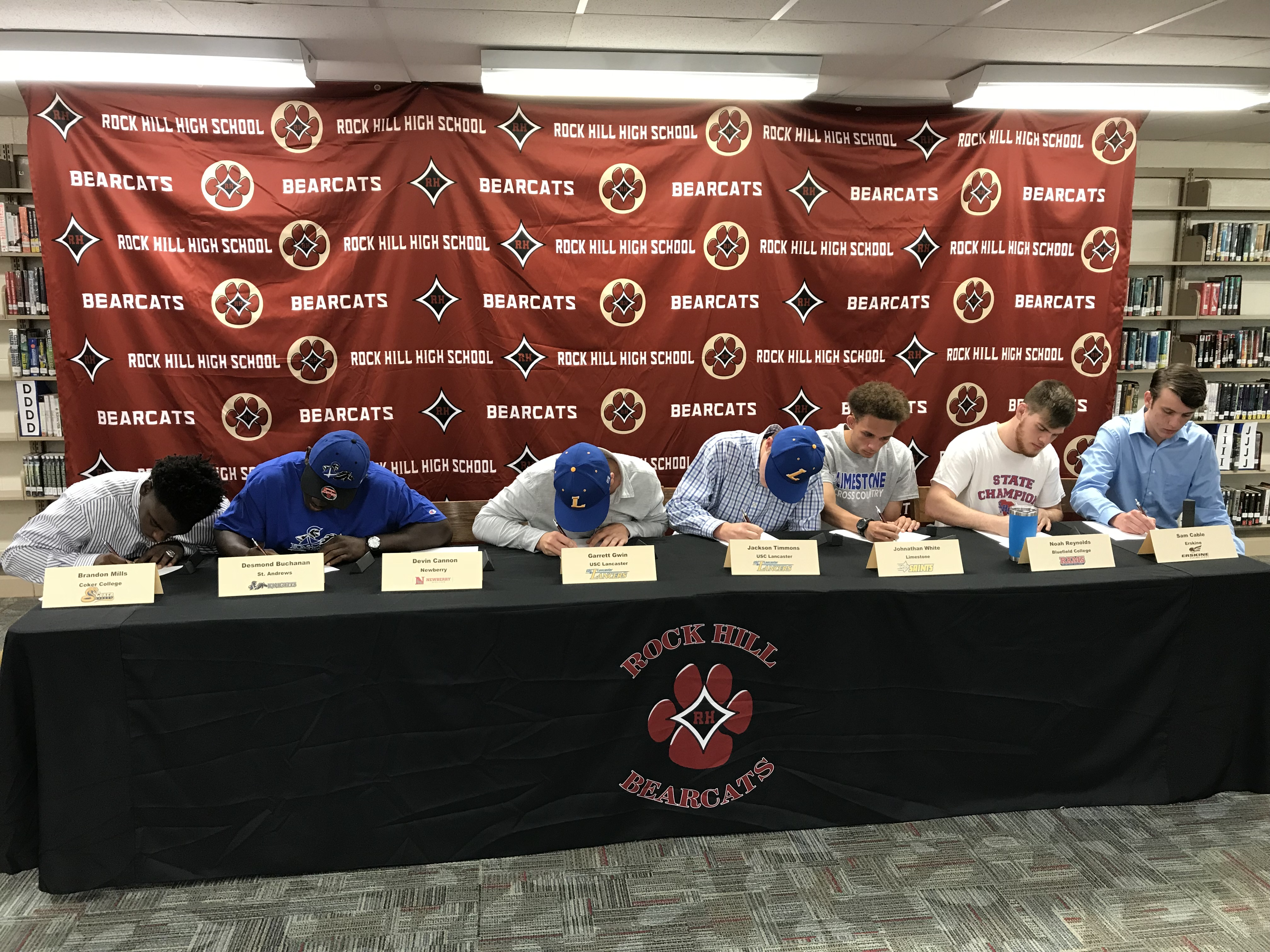 Eight Bearcats Sign to Play at Next Level