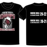 Order Your City Championship T-shirt Online – $15.00 – Proceeds to Bearcat Backers