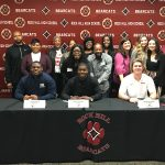 Three Bearcat Football Players Sign to Play at Next Level