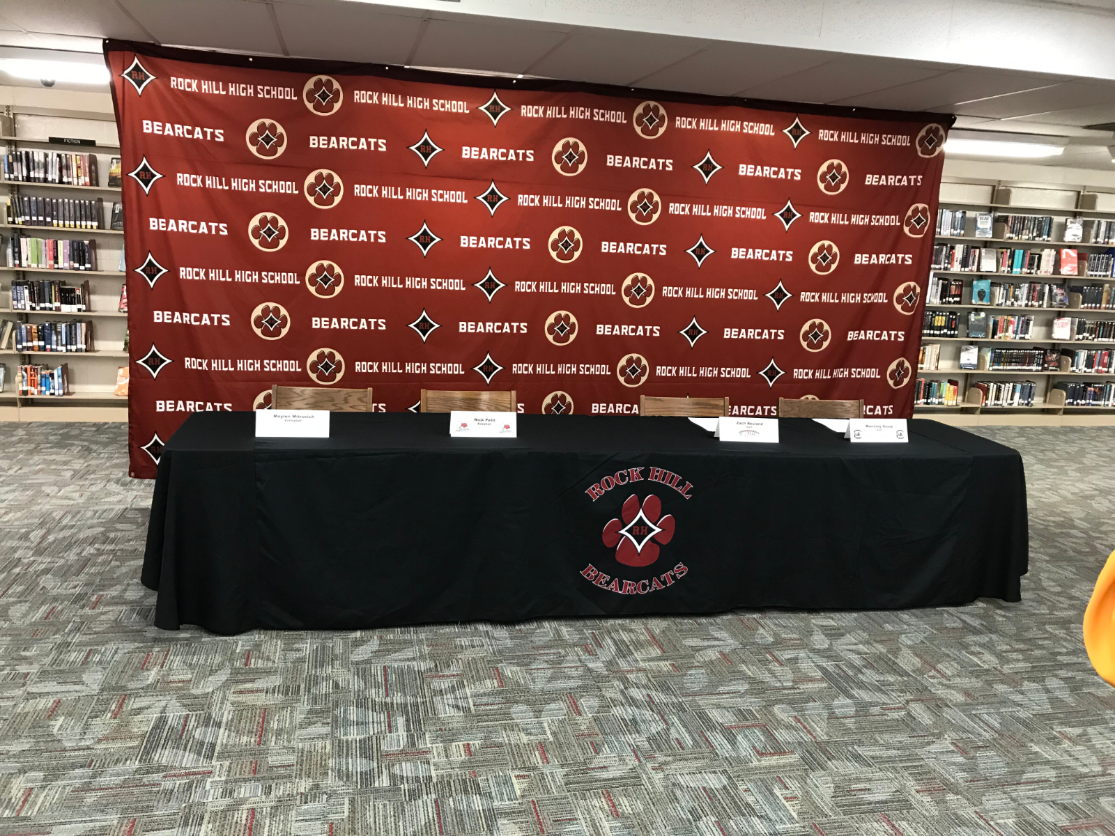 Rock Hill High School Announces 12 Student Athletes Sign to Play at Next Level