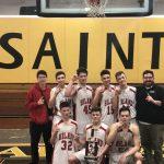Boys Freshman Basketball beats Garaway 34 – 28