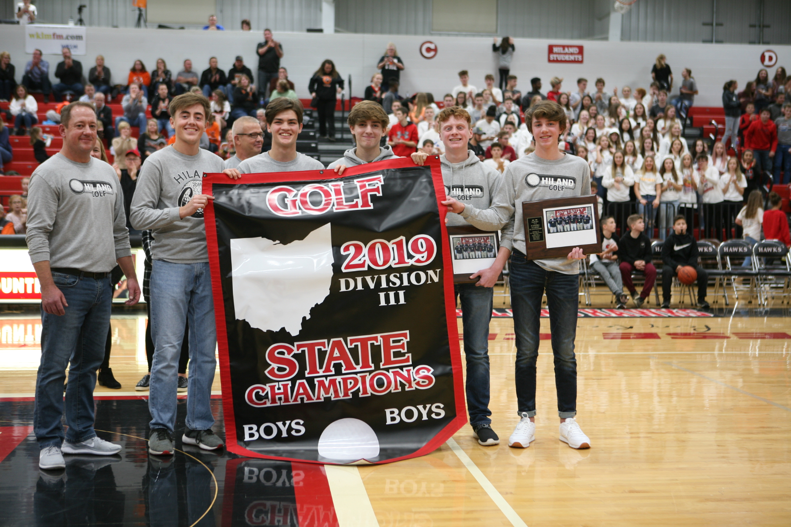 Hiland Golf Honored!