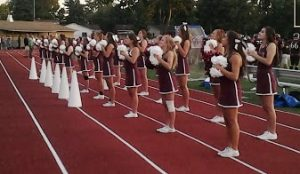 Ford Football & Cheer Pictures 9-5 & 9/6 vs. IKE