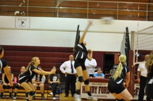 FALCON JV VOLLEYBALL IN ACTION!