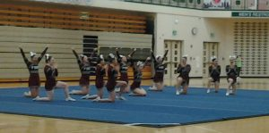 FALCON COMPETITIVE CHEER at DAKOTA COMPETITION (1/28/15) (JV & VARSITY)