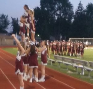 JV FALCONS FOOTBALL and SIDELINE CHEER / Port Huron