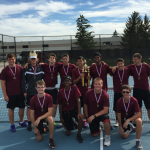 GREAT SEASON FOR FALCON BOY'S TENNIS!