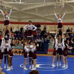 JV COMPETITIVE CHEER TAKES 4th AT COUSINO