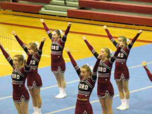 HFII HOSTS CHEER COMPETITION – 1-13-16