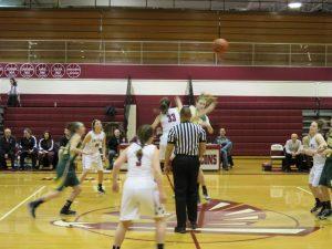 HFII Girl's Basketball battles Grosse Pointe North – 1/21/16