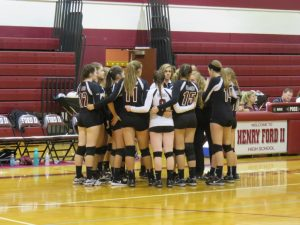 FALCON JV VOLLEYBALL vs PORT HURON 9-27-17