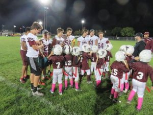 FALCON VARSITY FOOTBALL vs. SFC 6 & 7 yr Old FALCONS!