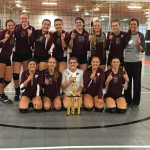 FALCON VARSITY VOLLEYBALL WINS REGINA TOURNAMENT!