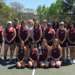 HFII JV GIRLS TENNIS BRINGS HOME HARDWARE!