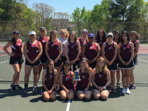FALCON JV GIRLS TENNIS – SPRING 2017!