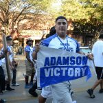 Oak Cliff Super Bowl Parade is at 6:00 pm tonight in Bishop Arts District