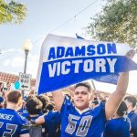 Thousands attended the Adamson-Sunset Parade and Pep Rally last night