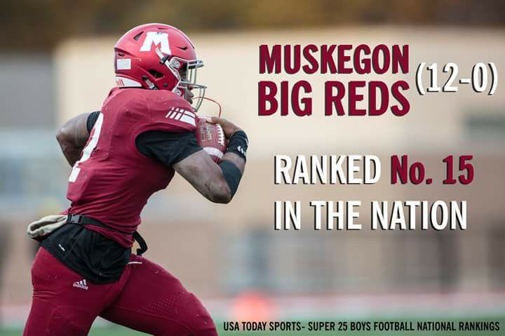 Big Reds ranked #15 in the nation!