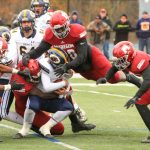 Big Reds defense tackle
