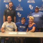 Petty signs with Bethel