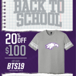 Back to School, Spirit Wear Savings!