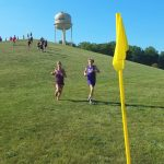 ECA Middle School Girls Cross Country fall to swarm despite individuals finishing 1st and 2nd