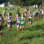 Girls Middle School Cross Country finishes 8th place at Warsaw Middle School XC Invitational