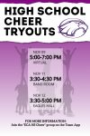 HS Cheer Tryouts