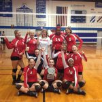 Varsity Volleyball Wins Cassopolis Tournament!