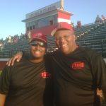 Caoch McDonald and Coach Smith