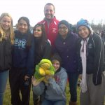 Girls XC team @ State Finals