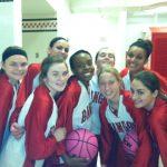 Varsity Girls Basketball team gets ready for their season opener in Bloomingdale