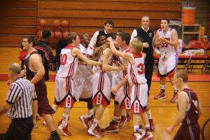 Boys Varsity Basketball vs. Watervliet- 3point buzzer shot