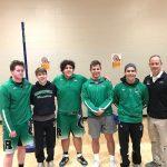 Boys Varsity Wrestling finishes  at Sectionals