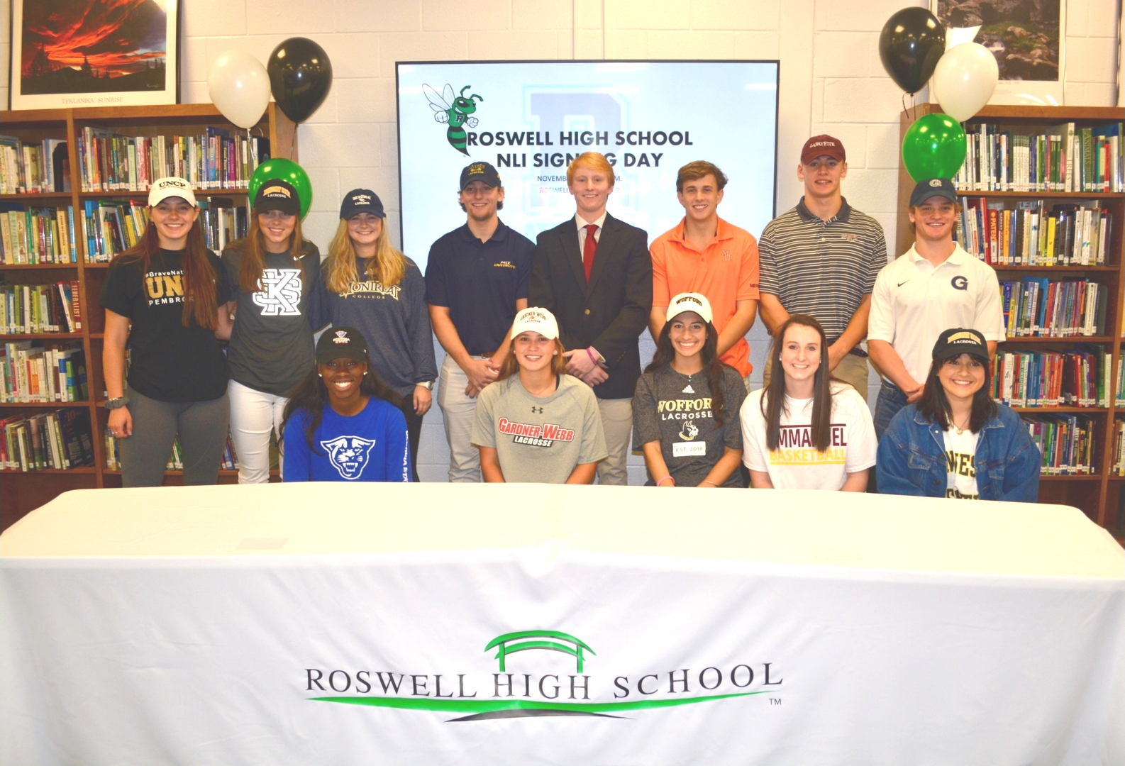 Roswell NLI Signing Class