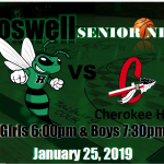 ROSWELL BASKETBALL SENIOR NIGHT!