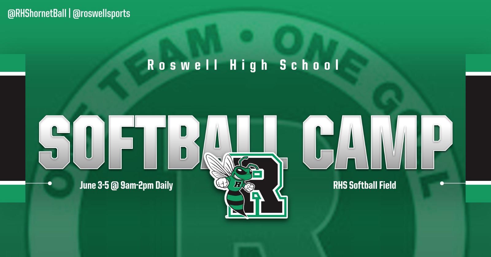 RHS Softball Camp – Register Now!