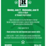 5th Annual Roswell High School Boys Soccer Summer Camp 2019!