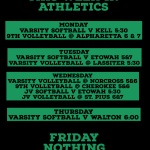 This week in Hornet Athletics