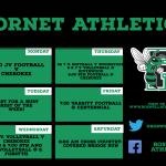 This week in Hornet Athletics